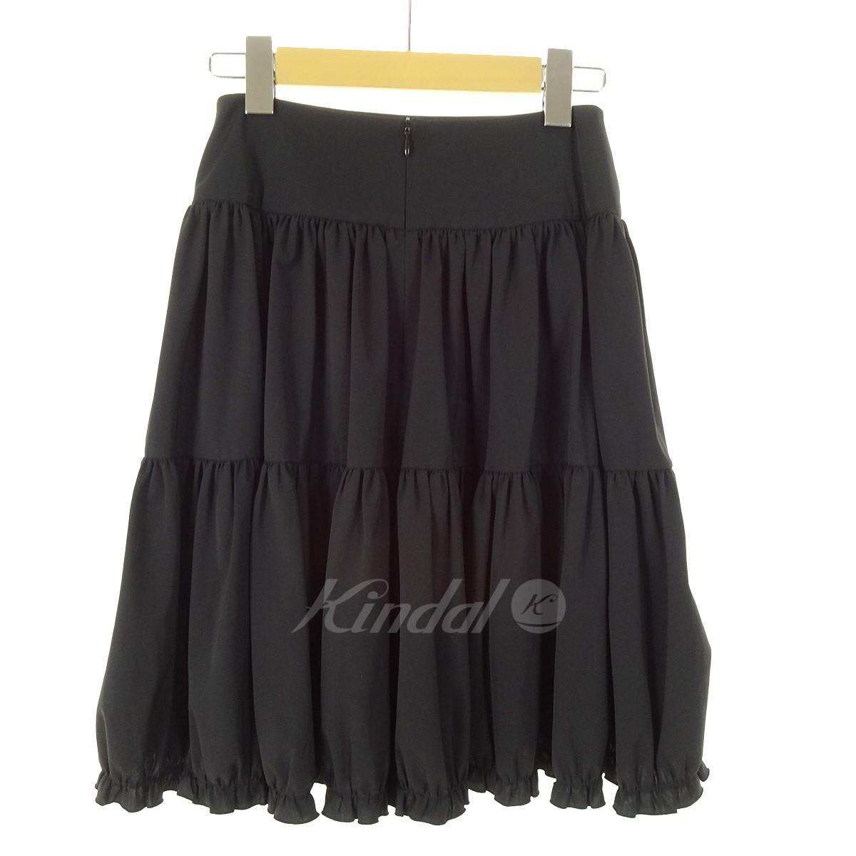 FOXEYクールストレッチスカート ブラック サイズ 38 10月31日見直しIYD2WEH9