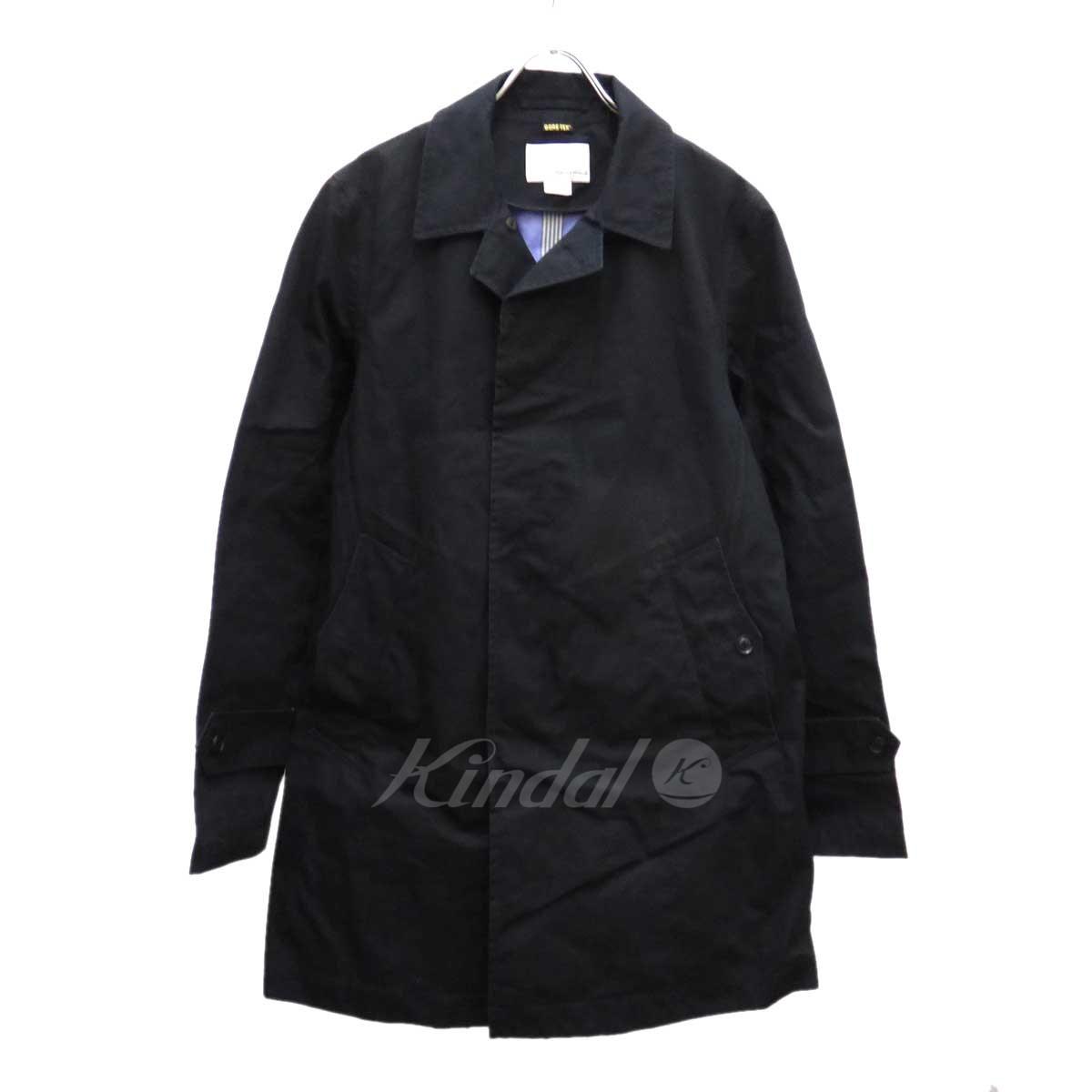 【中古】nanamica Soutien Collar Coat GORE-TEX コート ブラック サイズ:M 【260819】(ナナミカ)