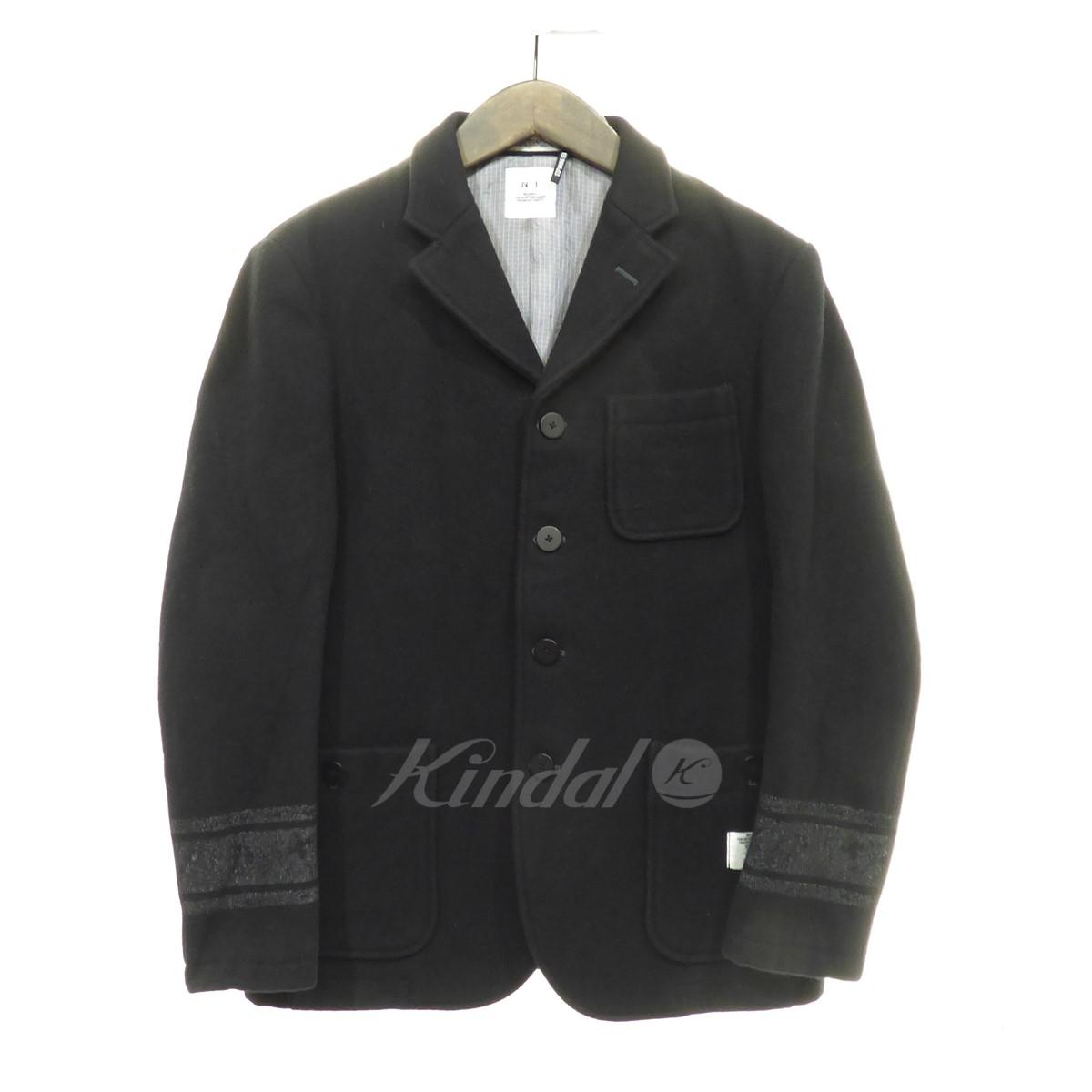【中古】BEDWIN & THE HEARTBREAKERS ウールジャケット ブラック サイズ:1 【310819】(ベドウィン アンド ザ ハートブレイカーズ)