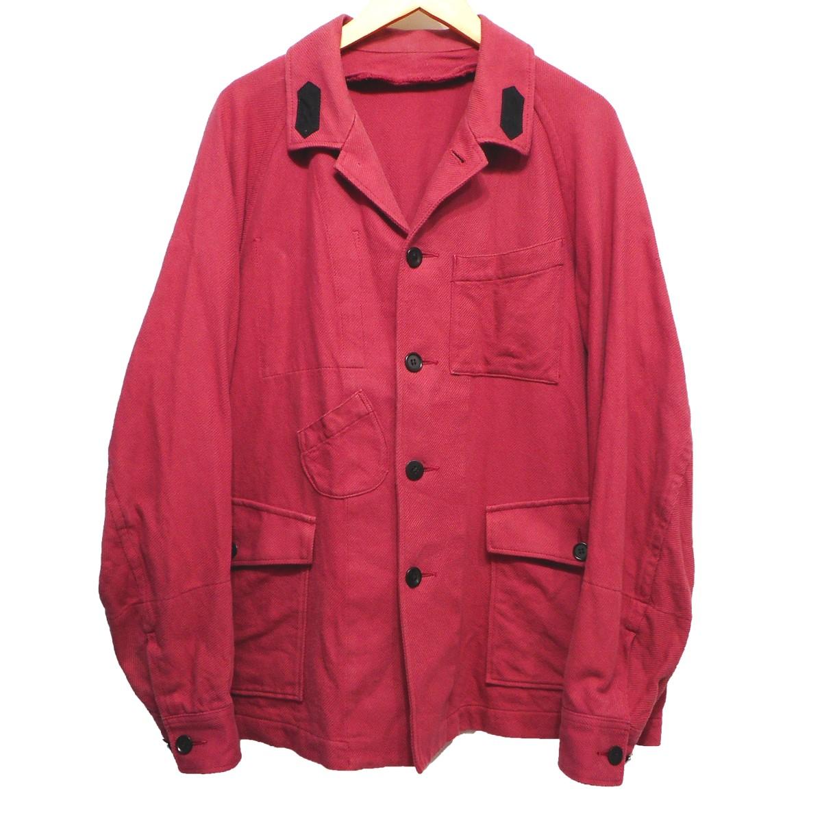 【中古】UNDERCOVER18SS カバーオールジャケット ピンク サイズ:2【1月20日見直し】