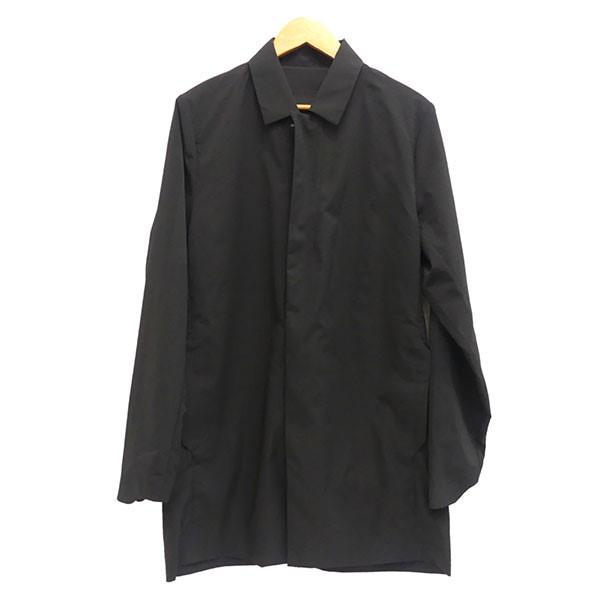 【中古】Descente ALLTERRAINSCHEMATECH AIR BAL COLLAR COAT ブラック サイズ:M 【5月14日見直し】