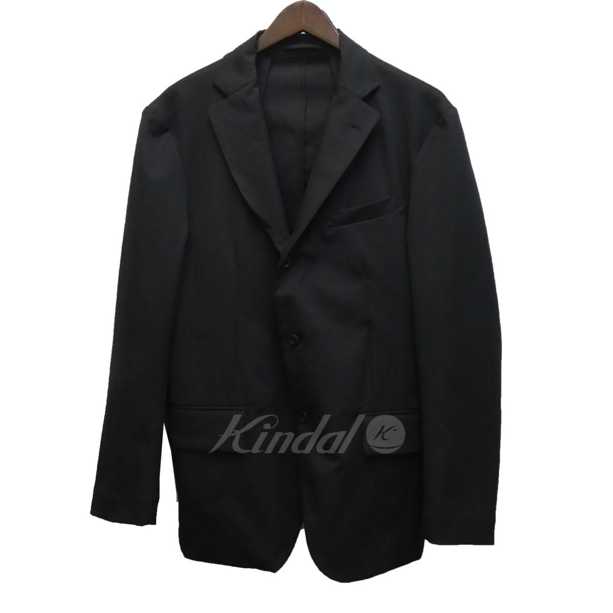 【1月6日 お値段見直しました】【中古】TEATORA「Device JKT S」テーラードジャケット ブラック サイズ:48
