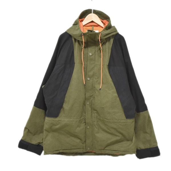 【中古】READYMADE19SS mountain parka green マウンテンジャケット カーキ・ブラック サイズ:3 【4月23日見直し】