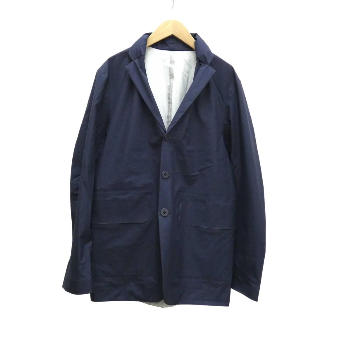 【中古】DESCENTEPackable Jacket ナイロンジャケット ネイビー サイズ:M 【4月16日見直し】