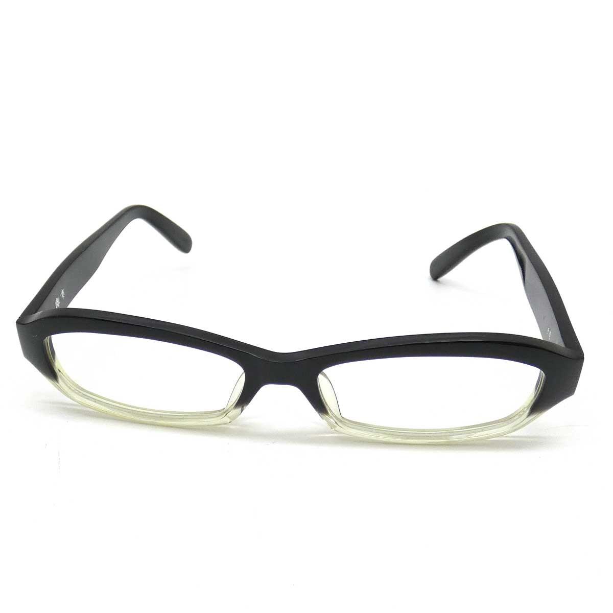 【中古】與市眼鏡 眼鏡  Y-13 BKCL ブラック 【220919】(與市眼鏡)