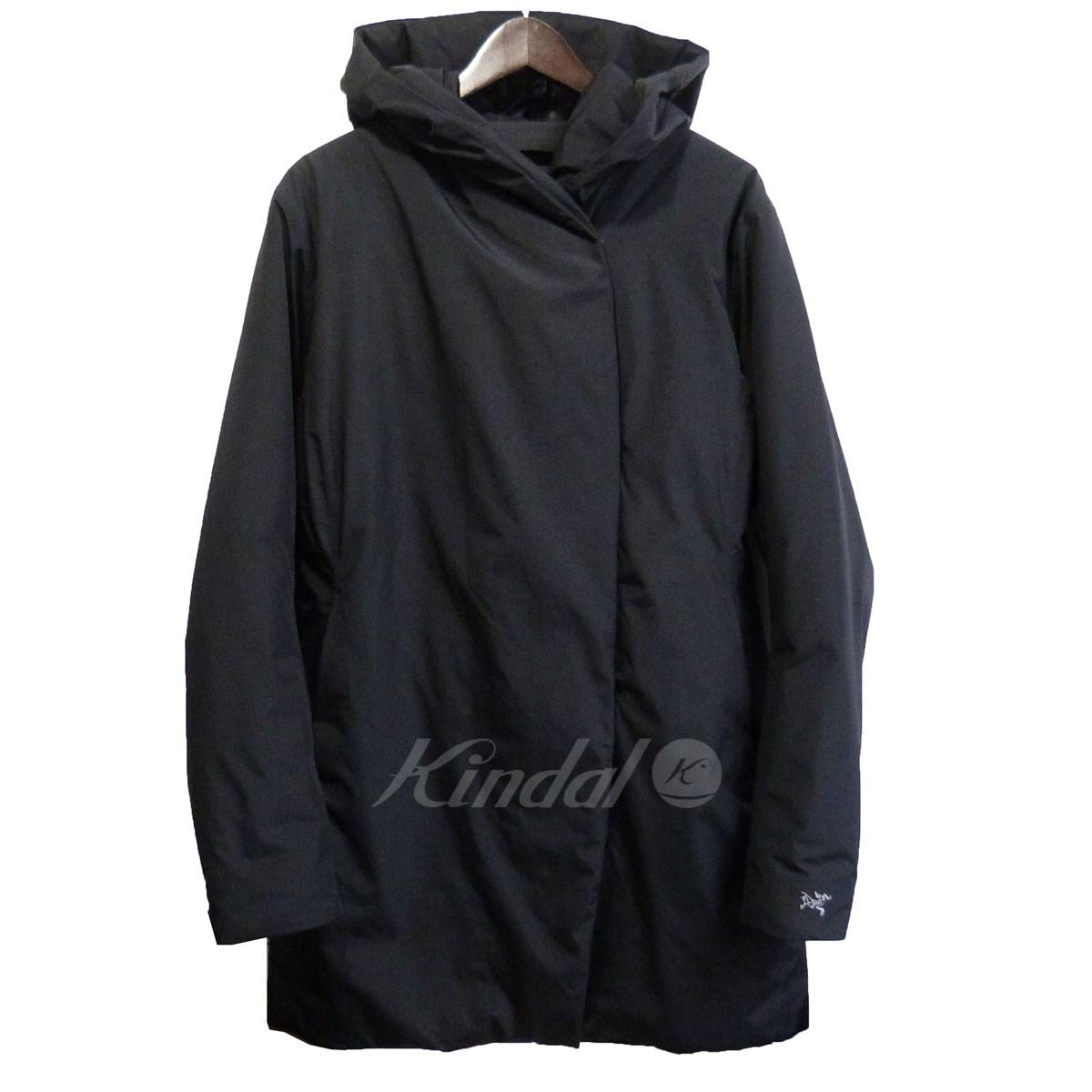 【中古】ARCTERYX 「Osanna Coat」中綿フーデッドコート ブラック サイズ:M 【250919】(アークテリクス)