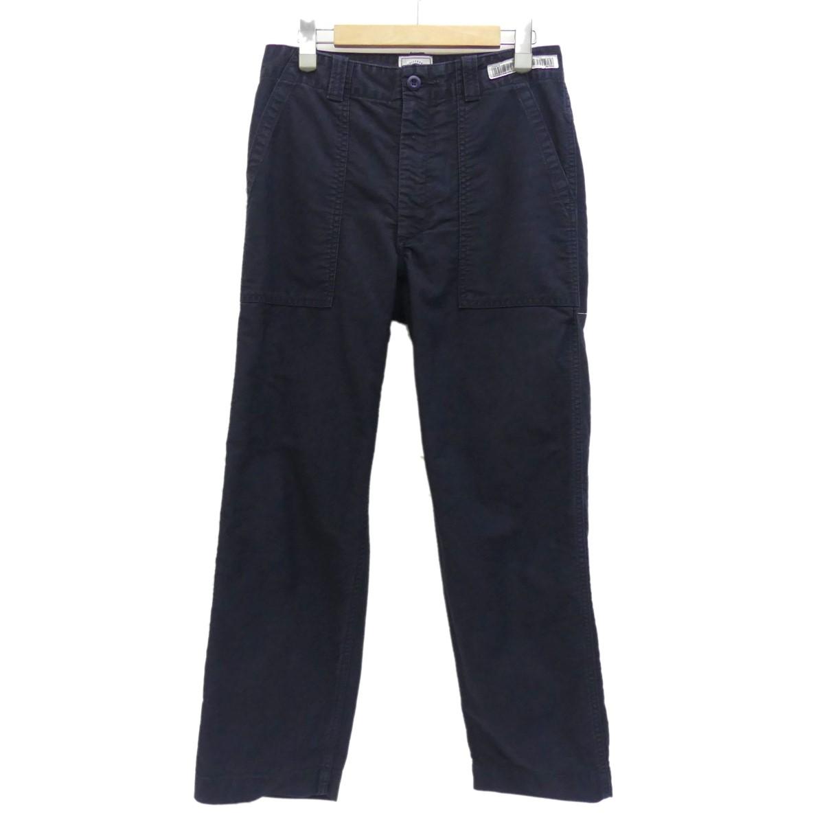 【中古】UNIVERSAL PRODUCTS ORIGINAL FATIGUE PANTS ネイビー サイズ:S 【031019】(ユニバーサルプロダクツ)
