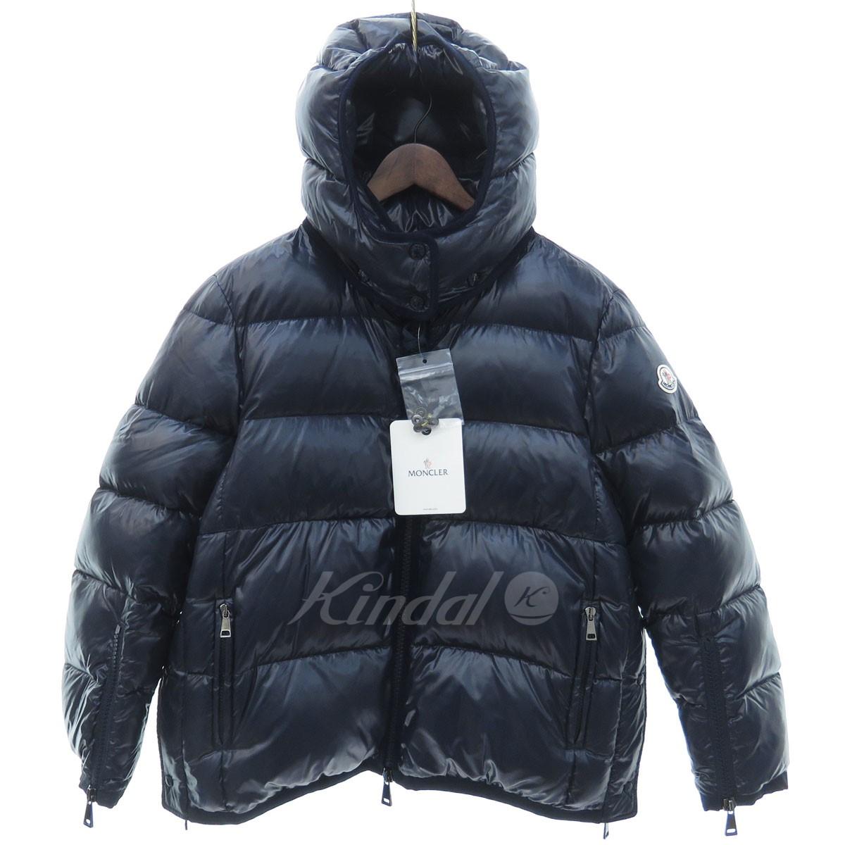 【中古】MONCLER COTINUS ダウンジャケット ネイビー サイズ:1 【031019】(モンクレール)