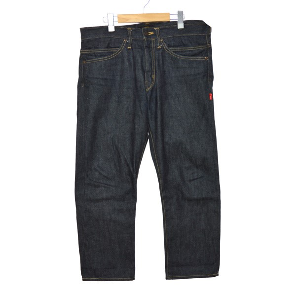 【中古】WTAPS 17SS BLUES VERY SKINNY RAW TROUSERS COTTONDENIMRAW インディゴ サイズ:L 【051019】(ダブルタップス)