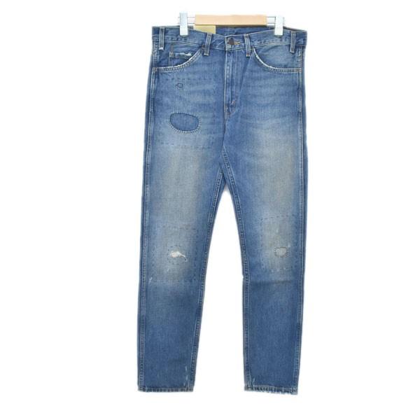 【10月17日 お値段見直しました】【中古】LEVIS VINTAGE CLOTHING加工デニムパンツ 606 30605-0067 インディゴ サイズ:32