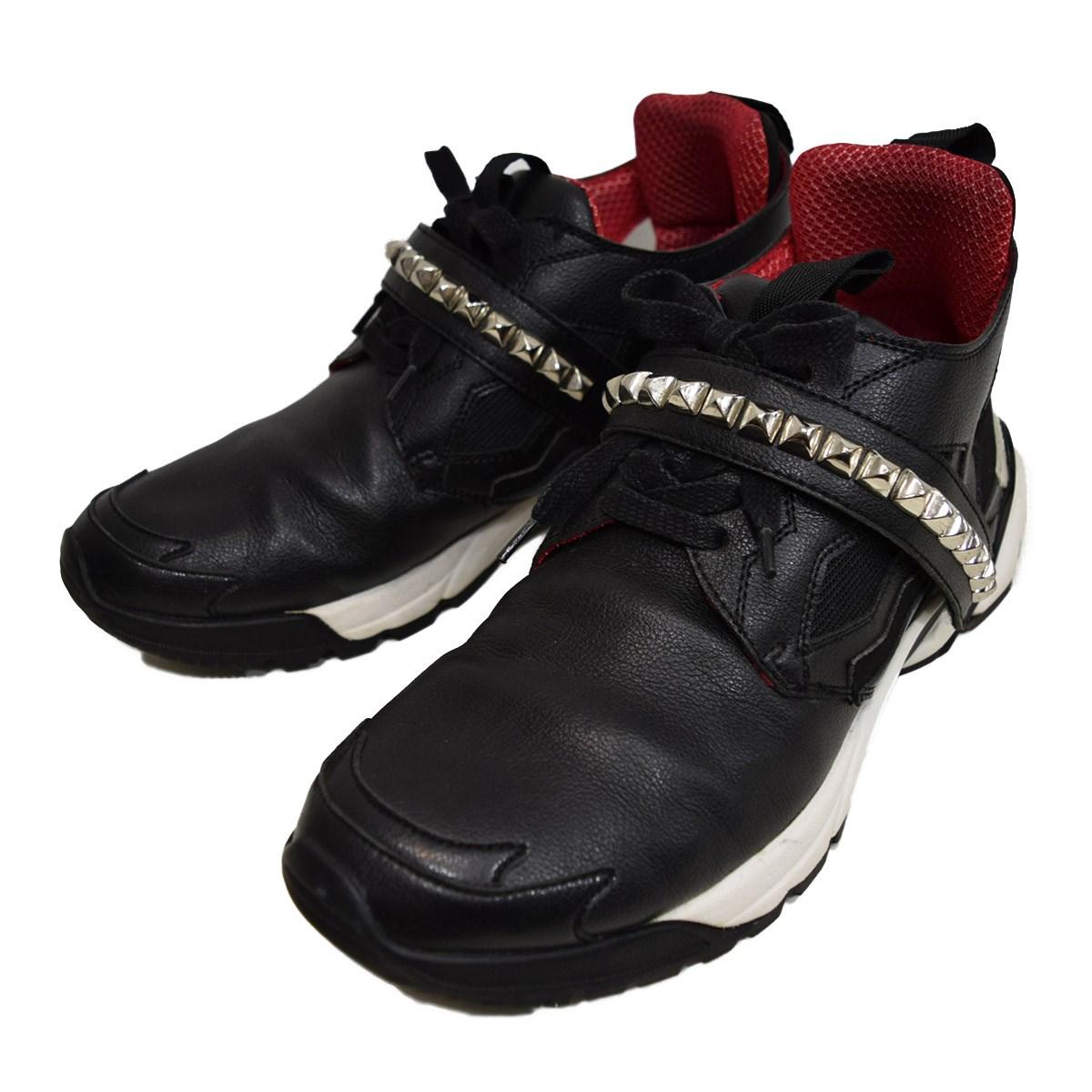 【中古】Roen ROCK-1 スニーカー ブラック サイズ:27cm 【051019】(ロエン)