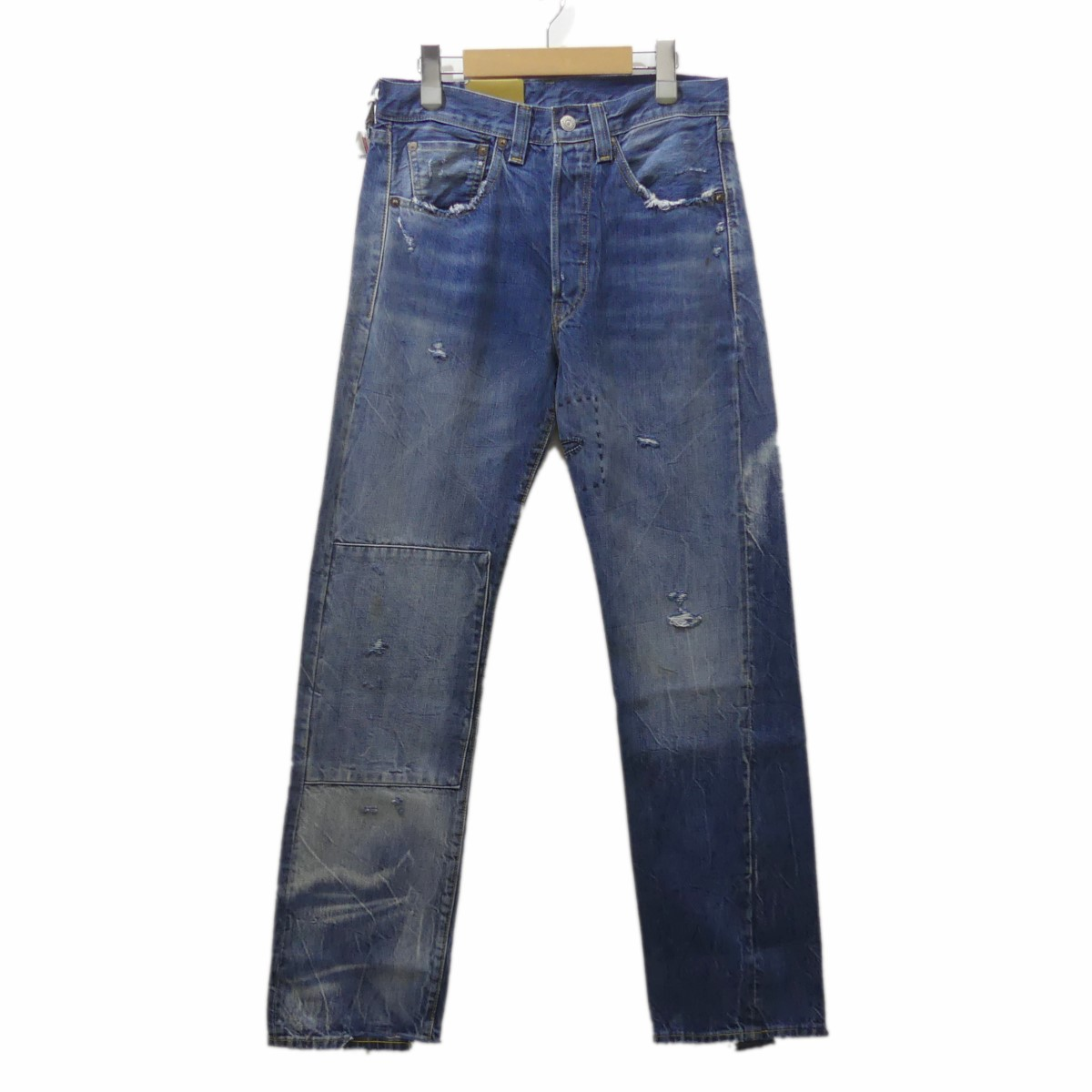 【中古】LEVIS VINTAGE CLOTHING 1947年モデル 501XX ストレートデニムパンツ インディゴ サイズ:29 【071019】(リーバイスヴィンテージクロージング)