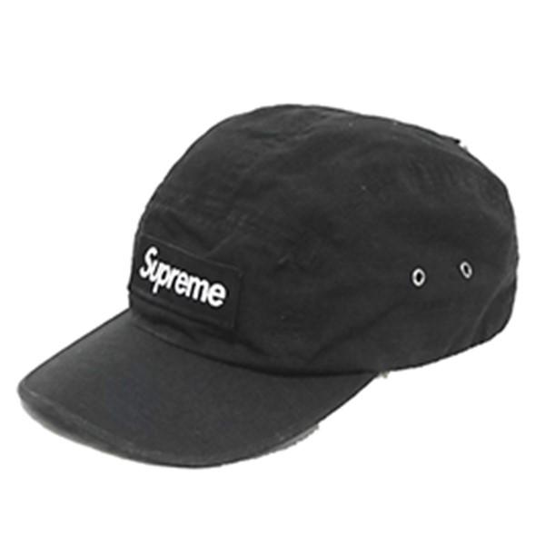 【中古】SUPREME Camp Cap キャンプ キャップ ブラック サイズ:- 【081019】(シュプリーム)