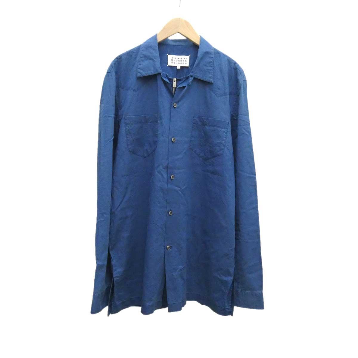 【中古】Martin Margiela 10 ハーフジップシャツ 【369355】 【KIND1884】