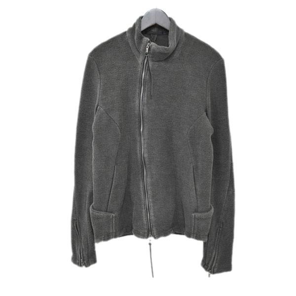 【中古】the viridi-anne バイアス ジップアップジャケット VI-2485-06 グレー サイズ:2 【151019】(ザ ヴィリジアン)