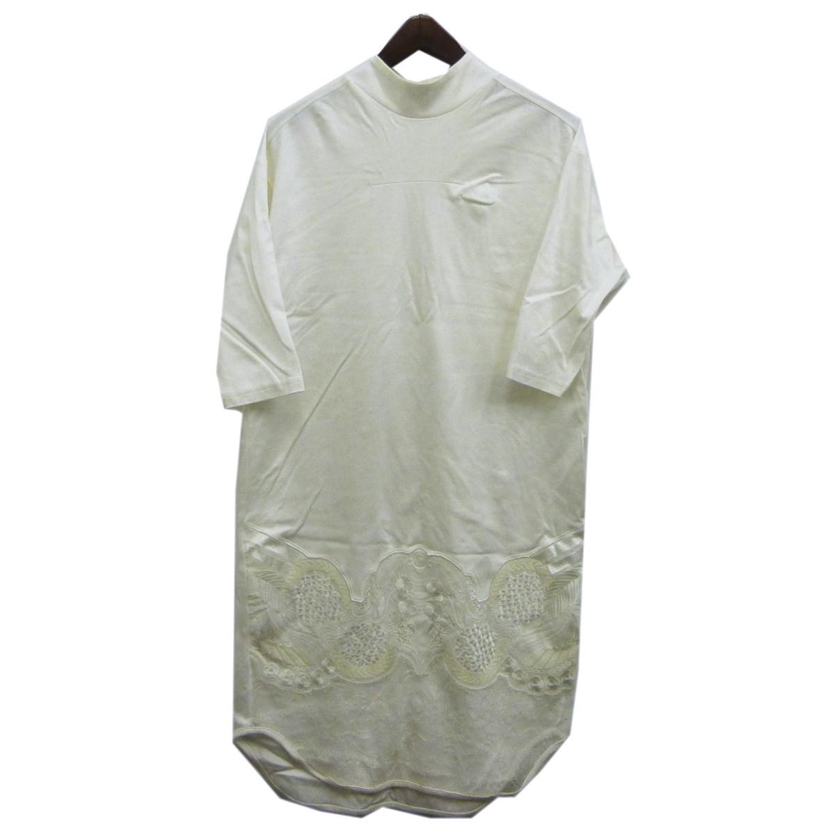 【中古】mame裾レースワンピース ホワイト サイズ:1