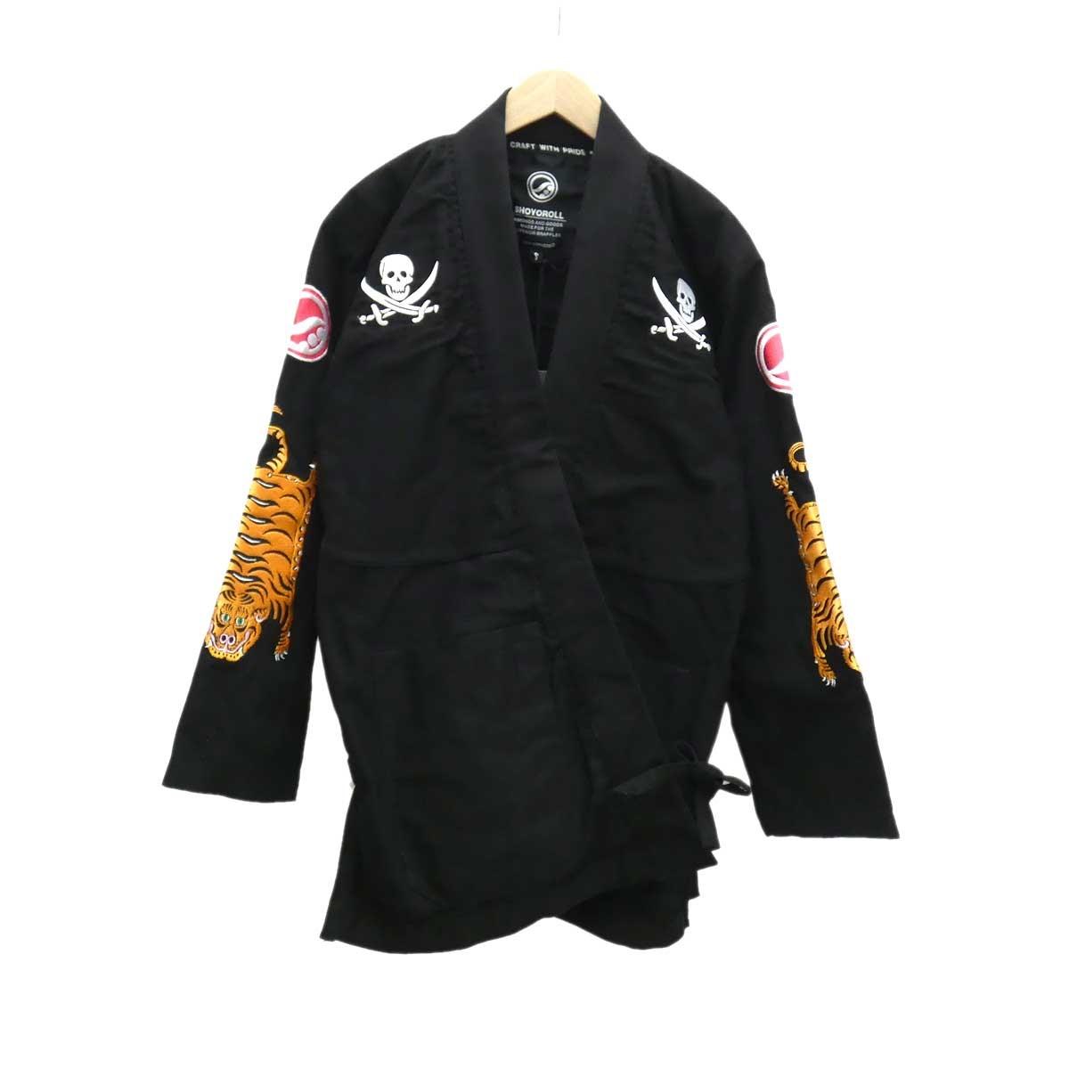 【中古】NEIGHBOR HOODドウギジャケット 2019SS ブラック サイズ:S 【4月16日見直し】