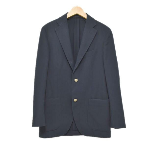 【中古】LARDINI 3Bテーラードジャケット ネイビー サイズ:44 【181019】(ラルディーニ)