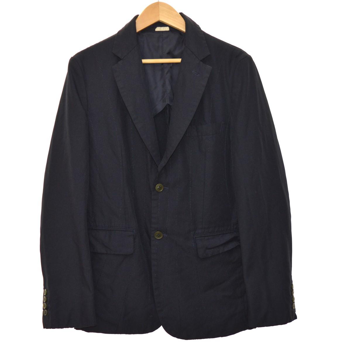 【中古】COMME des GARCONS HOMME DEUX 18SS ジャケット ネイビー サイズ:S 【171019】(コムデギャルソンオムドゥ)