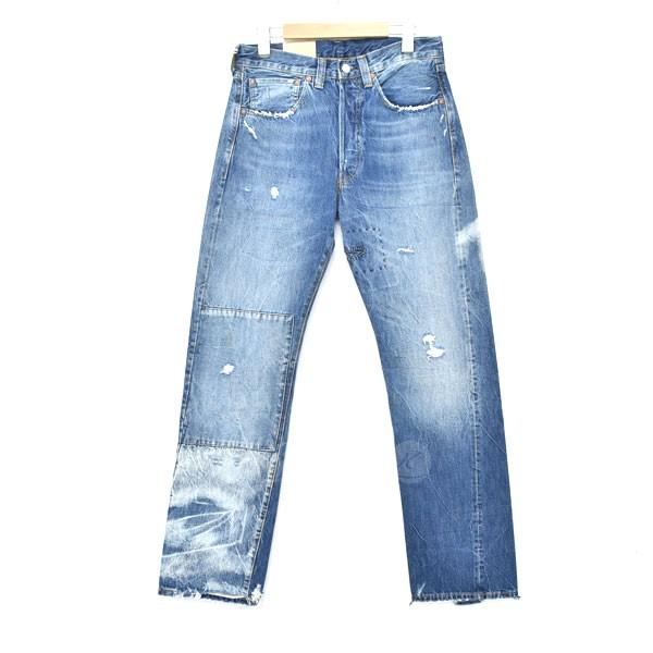 【中古】LEVIS VINTAGE CLOTHING 加工デニムパンツ 47501-0183 インディゴ サイズ:31 【211019】(リーバイスヴィンテージクロージング)