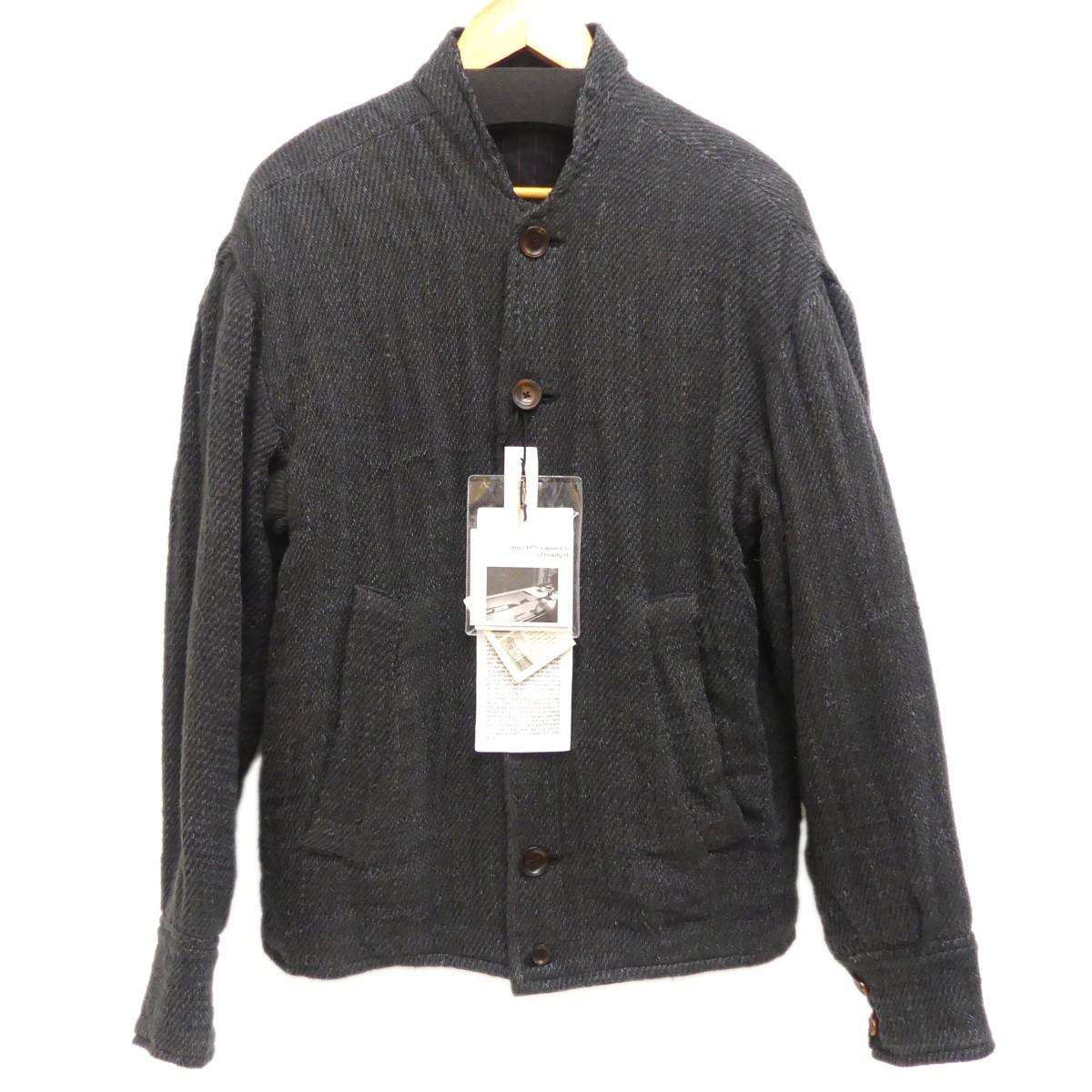 【中古】GEOFFREY B.SMALL ブルゾン ブラック サイズ:S 【261019】(ジェフリービースモール)