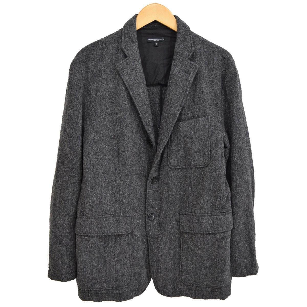 【中古】Engineered Garments Baker Jacket ベイカージャケット グレー サイズ:S 【271019】(エンジニアードガーメンツ)