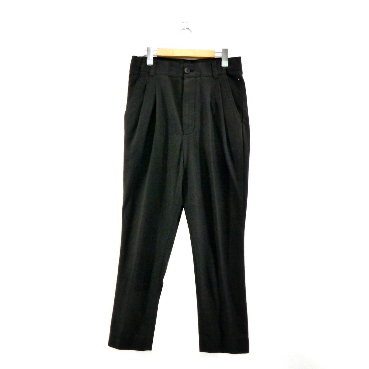 【中古】BED J.W. FORD シルク混パンツ ブラック サイズ:0 【281019】(ベッドフォード)
