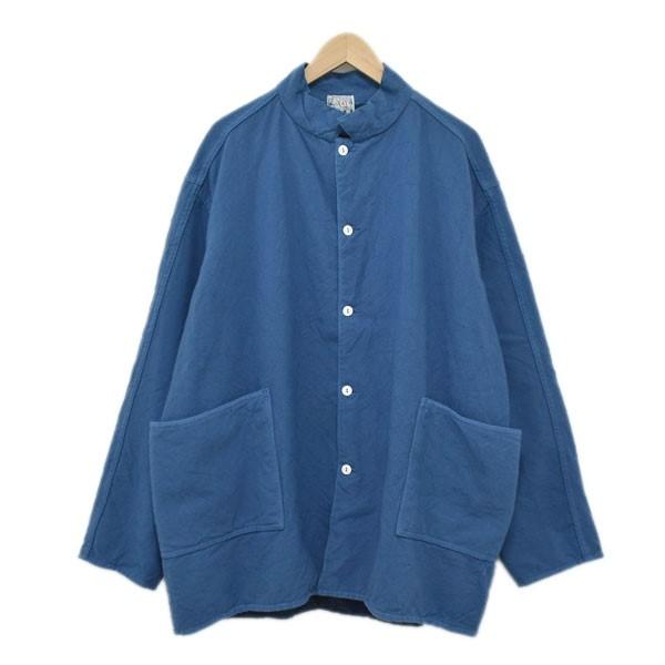 【中古】TENDERカバーオール 950 Herringbone Jacket ブルー サイズ:4 【4月27日見直し】