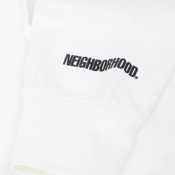ANTI SOCIAL SOCIAL CLUB 2018SS 【011119】 CE-HOODED.LS × 【中古】 (ネイバーフッド アンチソーシャルソーシャルクラブ) NEIGHBOR HOOD プルオーバーパーカー サイズ:M ホワイト