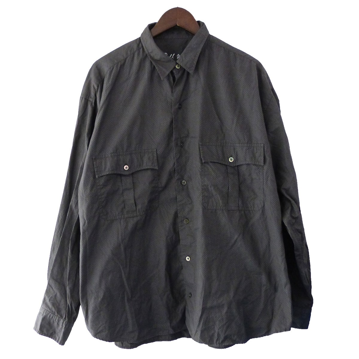【中古】Porter Classic 「ROLL UP DOT SHIRT」ロールアップドットシャツ 【275064】 【KIND1884】
