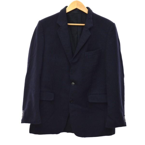 【中古】ZEERO OBJECT18AW ジャケット ネイビー サイズ:48 【5月14日見直し】