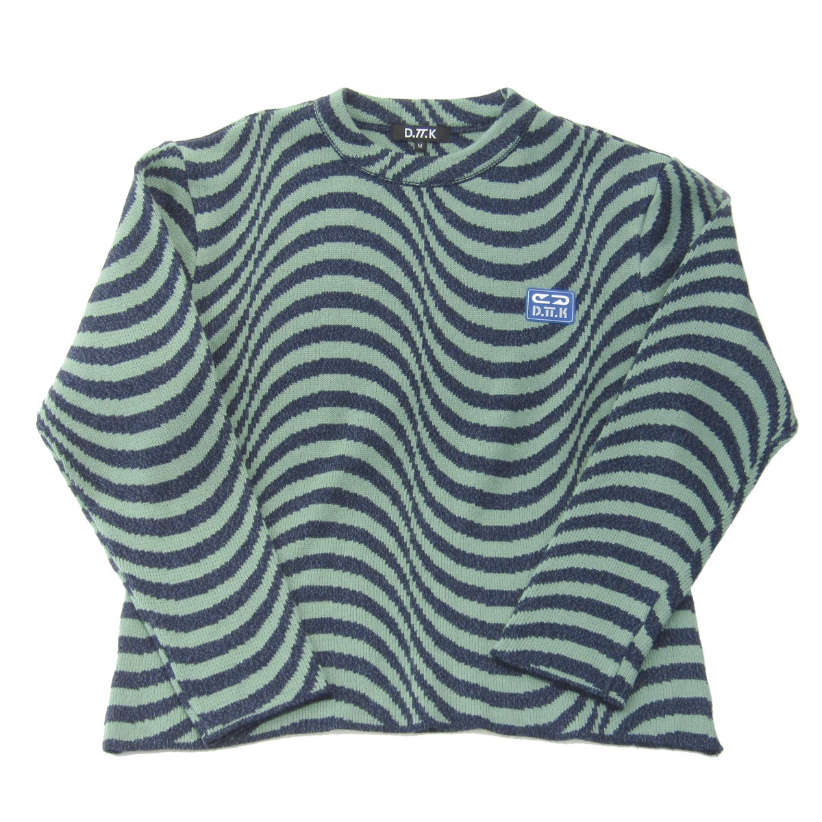 【中古】D.TT.K 2019AW RANDOM LINE KNIT TOPS 【098993】 【KIND1884】