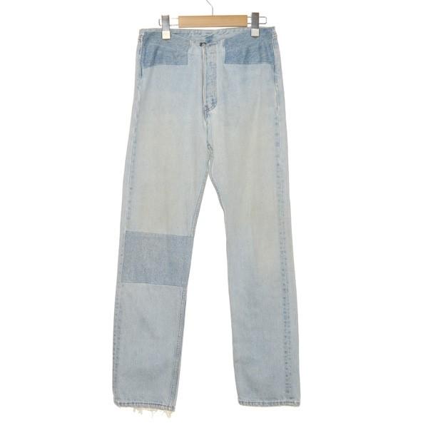 【中古】MARTIN MARGIELA 0Artisanal Collection Denim Pants 再構築デニムパンツ インディゴ サイズ:S 【7月9日見直し】