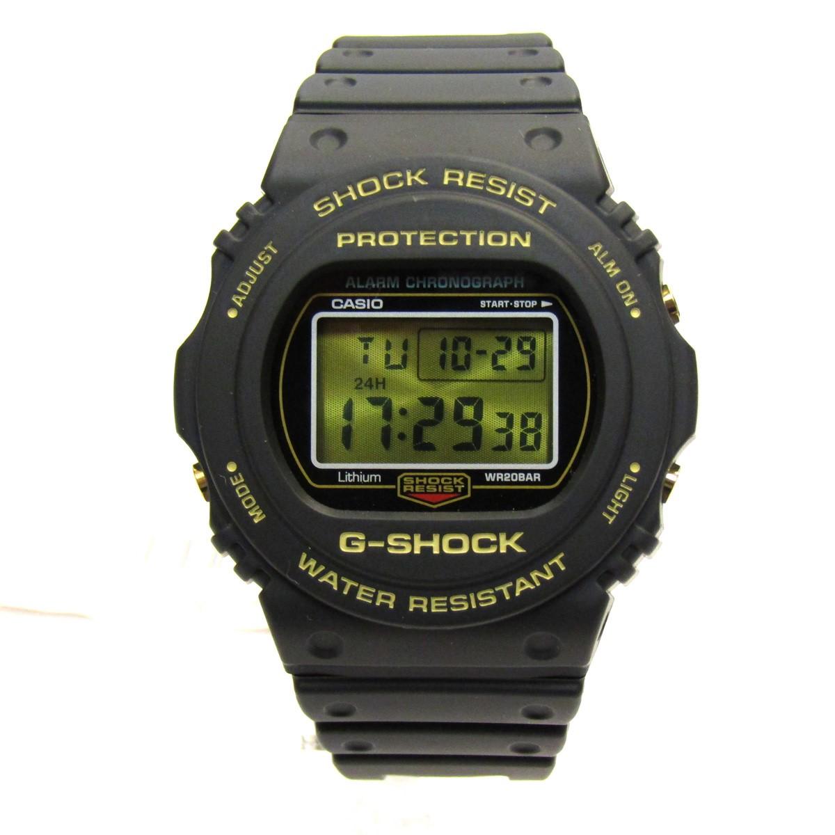 【中古】CASIO G-SHOCK35周年記念モデル/腕時計 ブラック サイズ:- 【081119】(カシオ)