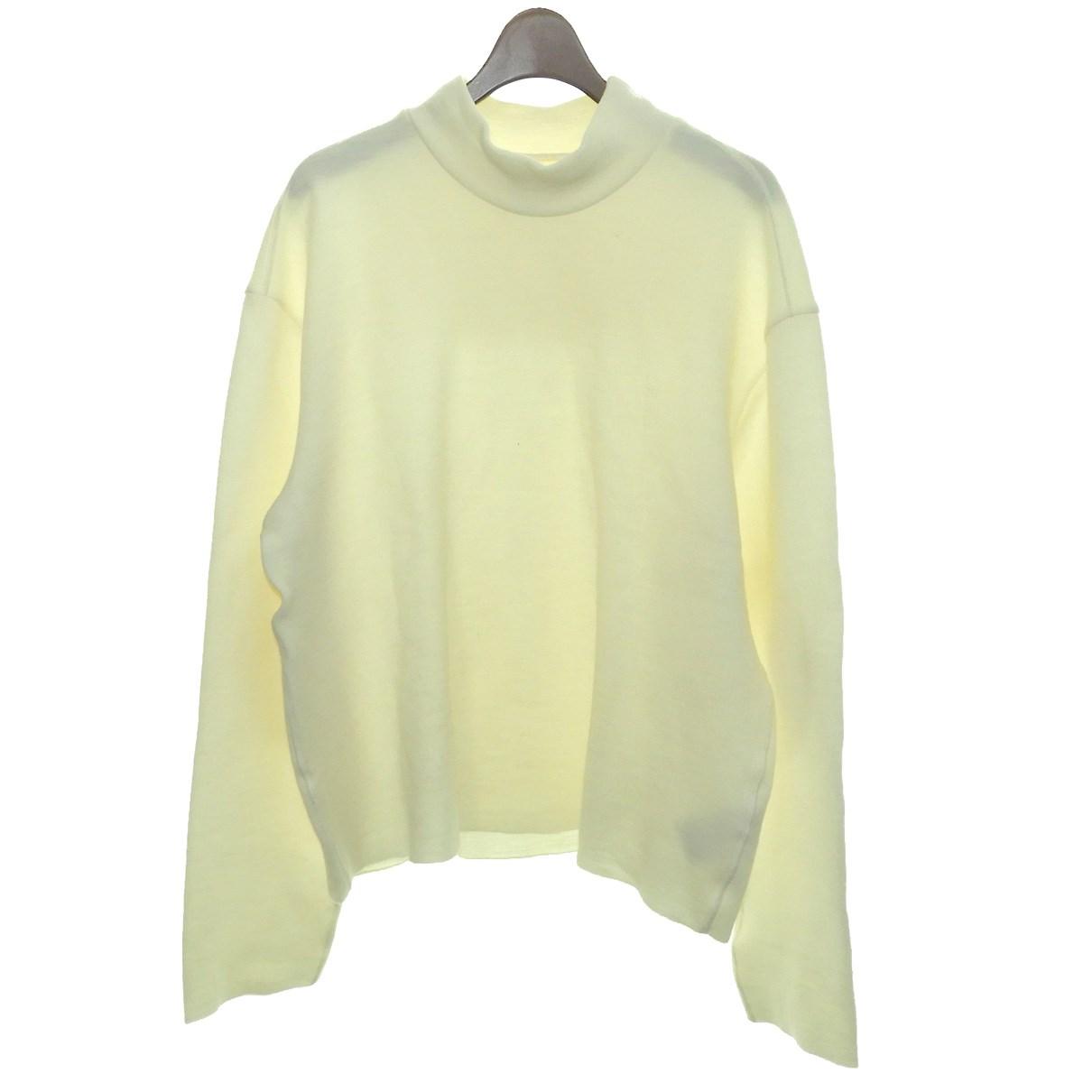 【中古】Martin Margiela142015AW ハイネックニットセーター ホワイト サイズ:46