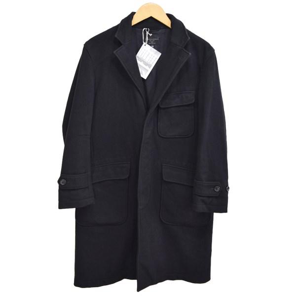【中古】Engineered Garments FREAKS STORE 別注 チェスターコート ブラック サイズ:XS 【141119】(エンジニアードガーメンツ)