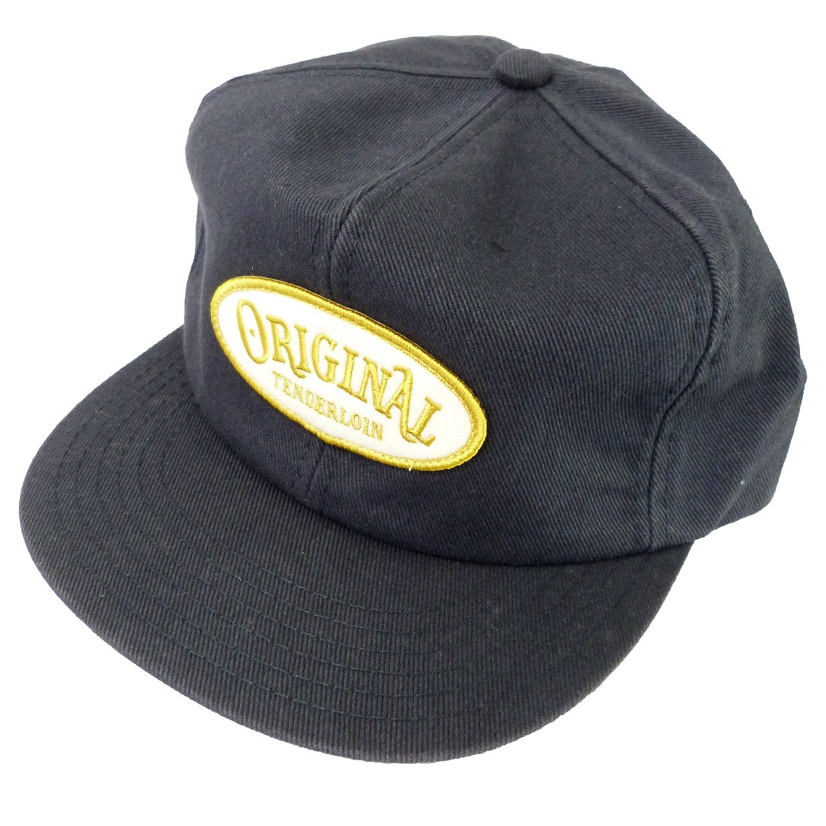 【中古】TENDERLOIN 「T-TRUCKER CAP」トラッカーキャップ ネイビー サイズ:- 【161119】(テンダーロイン)
