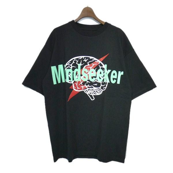 【中古】MINDSEEKER 2019AW 「Brain Target T-Shirt」ブレインターゲットTシャツ ブラック サイズ:XL 【171119】(マインドシーカー)