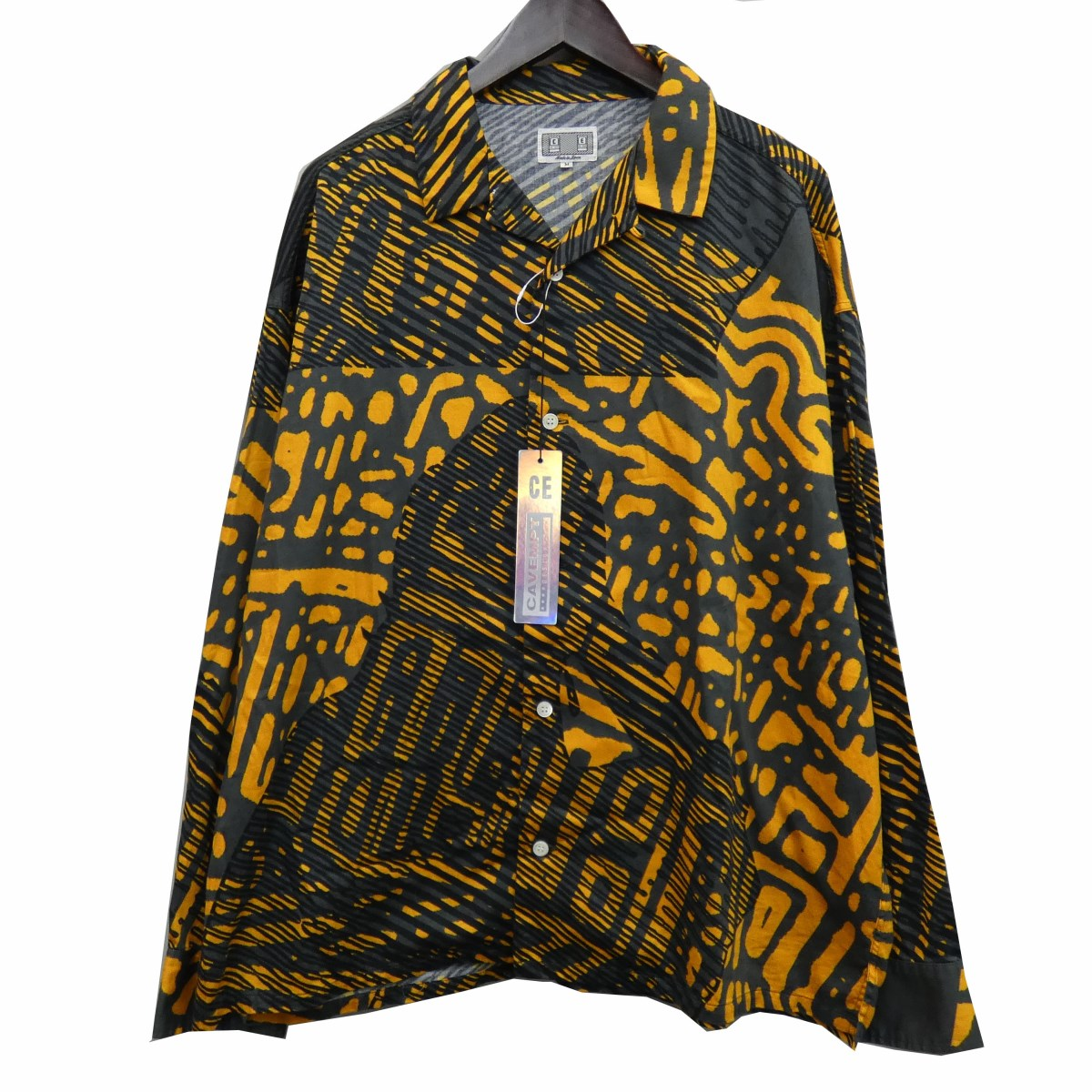 【中古】C.E 19AW 「SCAN LINE BIG SHIRT」 オープンカラーシャツ 【209024】 【KIND1884】