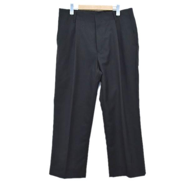 【中古】UDA ウールタックパンツ ブラック サイズ:L 【191119】(ユーディーエー)