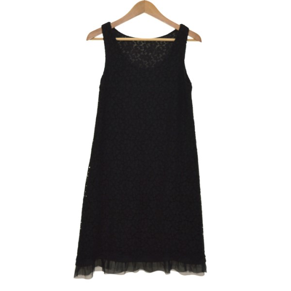 【中古】FOXEY2019 dress ワンピース 39302-KSOFZ400U ブラック サイズ:38