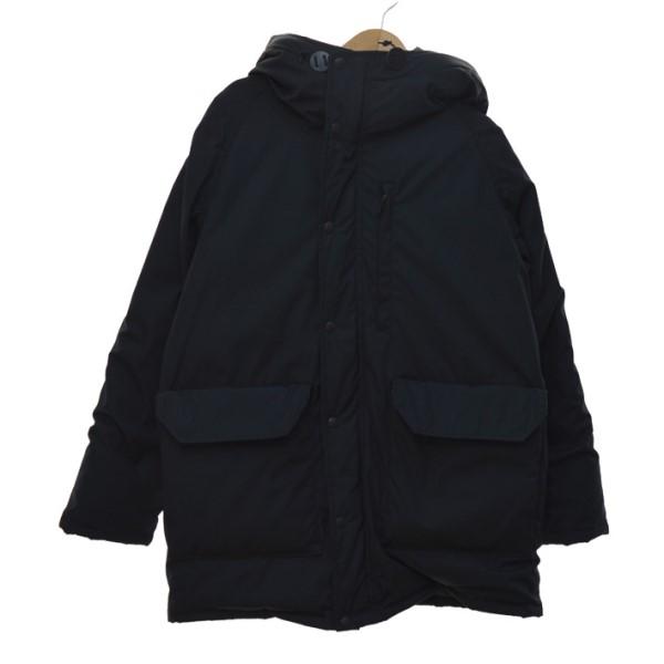 【中古】THE NORTH FACE PURPLE LABEL Long Serow ダウンジャケット ブラック サイズ:L 【201119】(ザノースフェイス パープルレーベル)