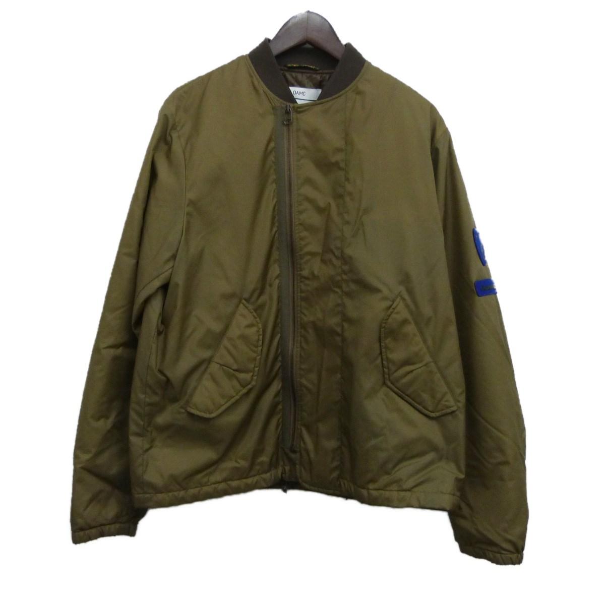 【中古】OAMC(OVER ALL MASTER CLOTH) フライトジャケット カーキ サイズ:M 【211119】(オーバーオールマスタークロス)