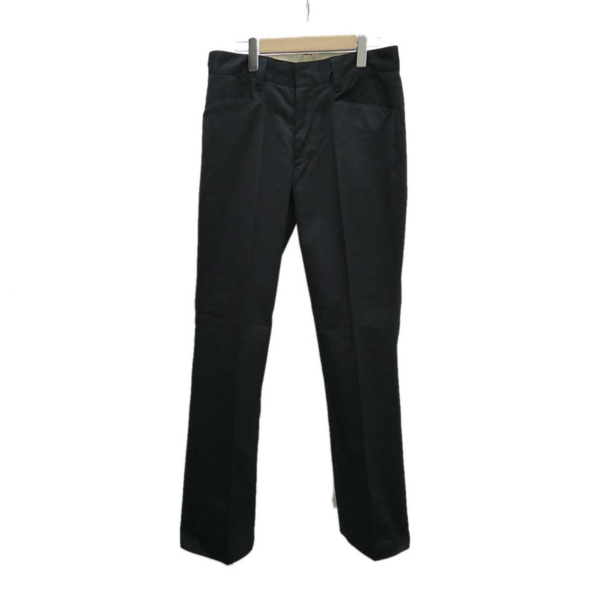 【中古】Mill パンツ 19AW立ち上げブランド ブラック サイズ:34 【221119】(ミル)