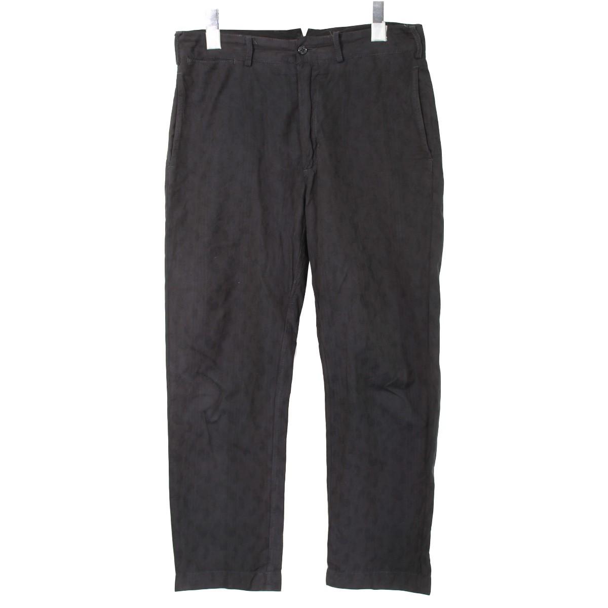 【中古】Engineered Garments ペイズリーシンチバックパンツ ブラック サイズ:30 【241119】(エンジニアードガーメンツ)
