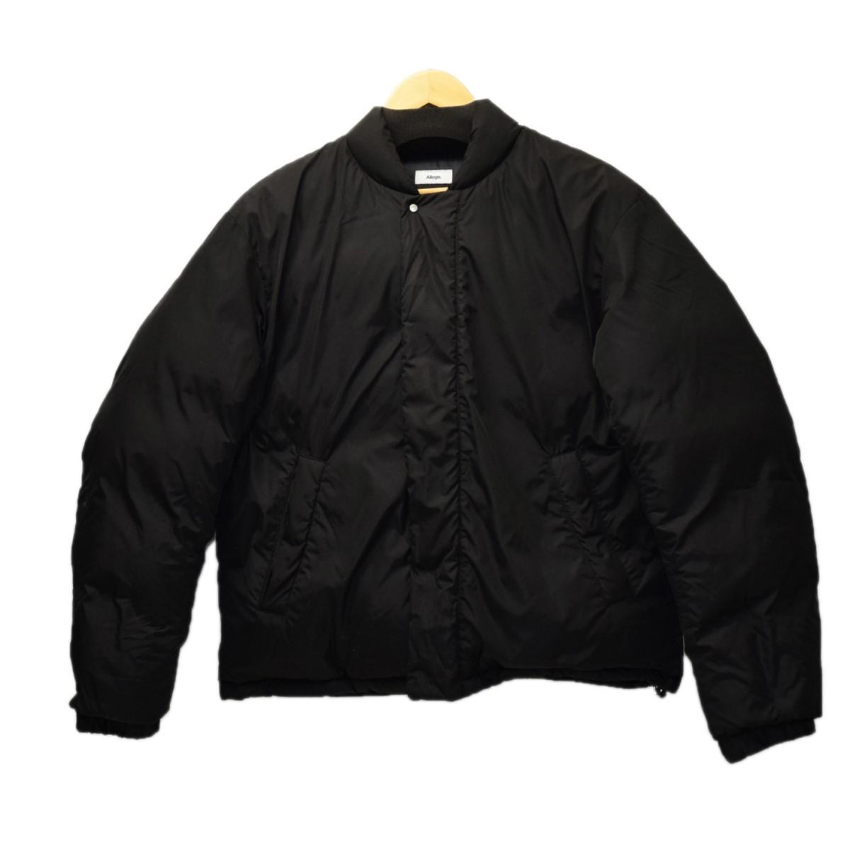 【中古】ALLEGE 2018AW ダウンジャケット ブラック サイズ:2 【241119】(アレッジ)