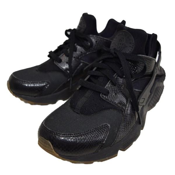 NIKE AIR HUARACHE BLACKELEMENTAL GOLD 318429 052 black elemene Tal clearcole: US 9 (Nike)