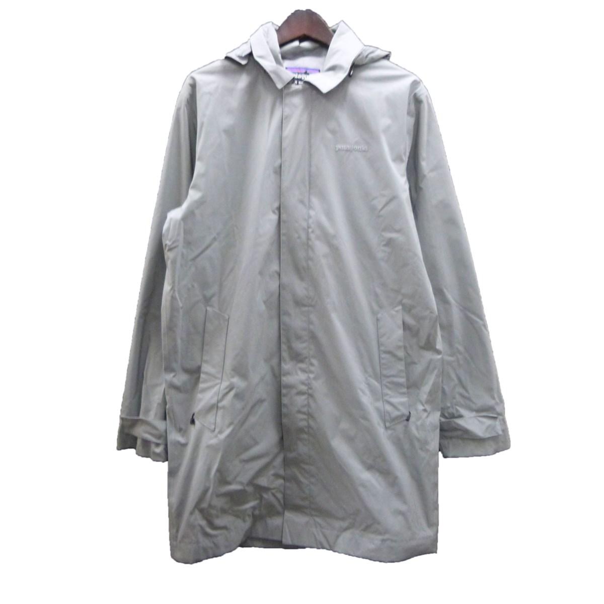 【中古】patagonia 「Fogbank Trench Coat」フォグバンドトレンチコート グレー サイズ:S 【281119】(パタゴニア)
