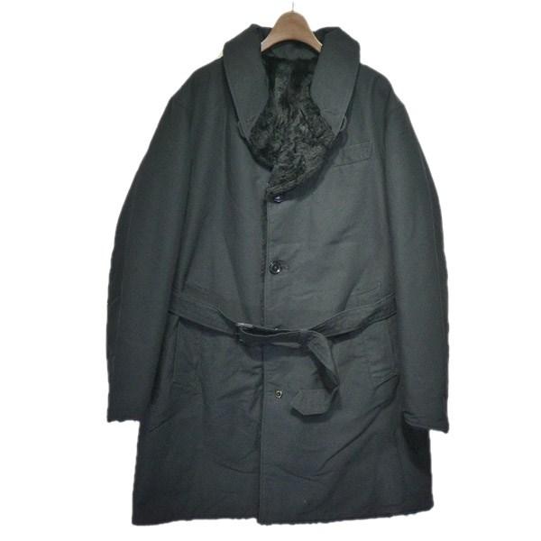 【中古】Engineered Garments2018AW「shawl collar reversible coat」リバーシブルコート ブラック サイズ:S 【5月11日見直し】