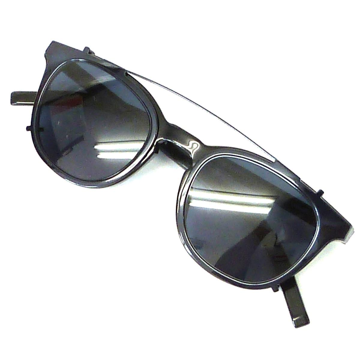 【中古】Dior Homme 「BLACKTIE238S」クリップオンサングラス付眼鏡 ブラック サイズ:- 【011219】(ディオールオム)